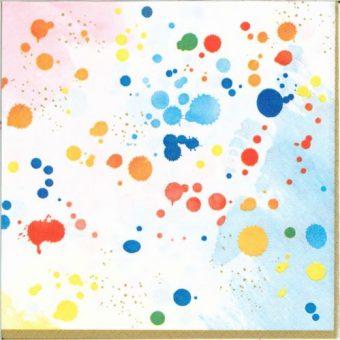 Dekorszalvéta - Colorful Splash