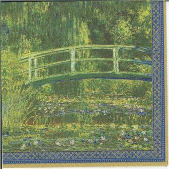 Dekorszalvéta - Water Lilies