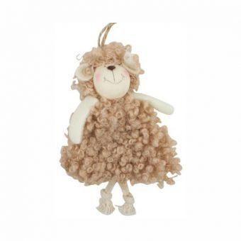 Húsvéti bárány akasztóval Barna