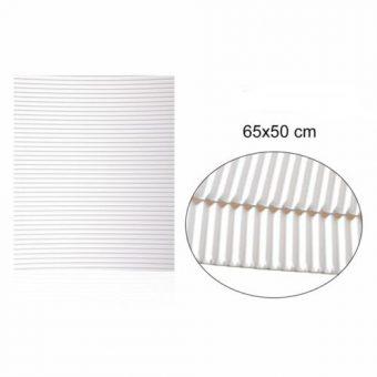Hullámkarton Fehér 65x50 cm