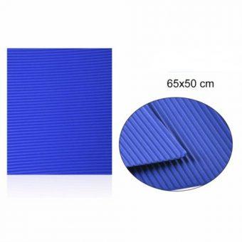 Hullámkarton Kék 65x50 cm