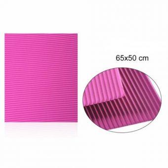 Hullámkarton Pink 65x50 cm