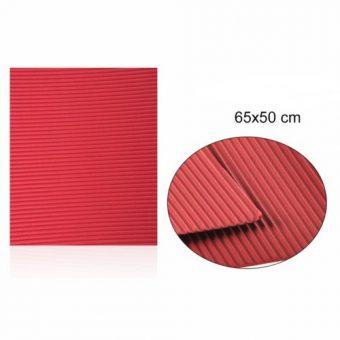 Hullámkarton Piros 65x50 cm