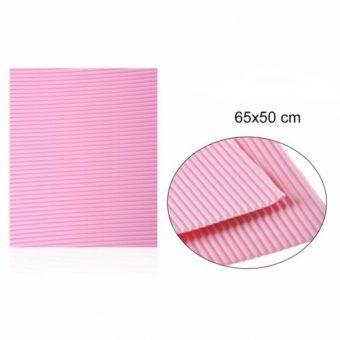 Hullámkarton Rózsaszín 65x50 cm