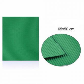 Hullámkarton Zöld 65x50 cm