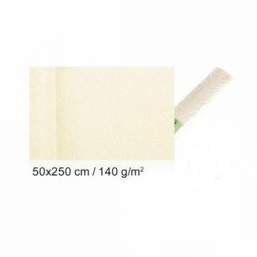 Vastag krepp-papír Krémszínű 50x250 cm