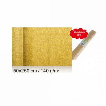 Vastag krepp-papír Arany 50x250 cm