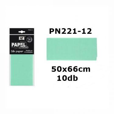 MP Selyempapír Halványzöld 50x66 cm 10 db/cs
