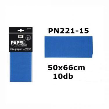 MP Selyempapír Kék 50x66 cm 10 db/cs
