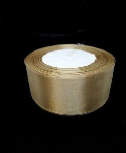 Szatén szalag, Arany 40 mm / 10 m