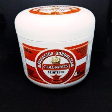 Columbus méhviaszos színtelen bőrbalzsam 500 ml