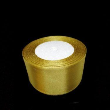Szatén szalag, Arany 50 mm / 22 m