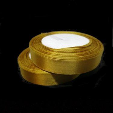 Szatén szalag, Arany 15 mm / 20 m