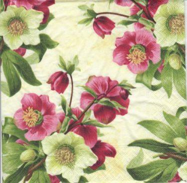 Dekorszalvéta - Easter Rose