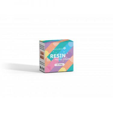 Resin Pastel Color - Gyantaszínező készlet 6x10 g