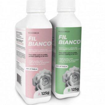 FIL BIANCO - Fehér kétkomponensű gyanta 250 g