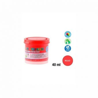 Artix tempera Piros 40 ml