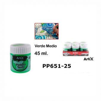 Artix Textilfesték Középzöld 45 ml
