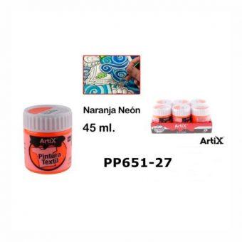 Artix Textilfesték Neon-narancs 45 ml