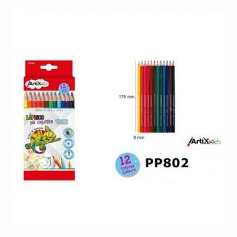 Artix színes ceruza készlet 12 szín/cs