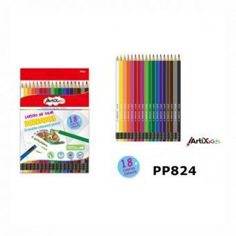 Artix színes ceruza készlet 18 szín/cs