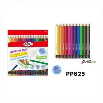 Artix Radírozható színes ceruza készlet 24 db/cs