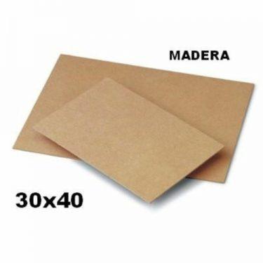 MDF tábla 30x40 cm 1 db/cs