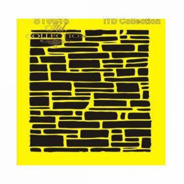ITD Stencil Téglák 16x16 cm