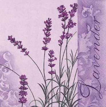 Dekorszalvéta - Scent of Lavender
