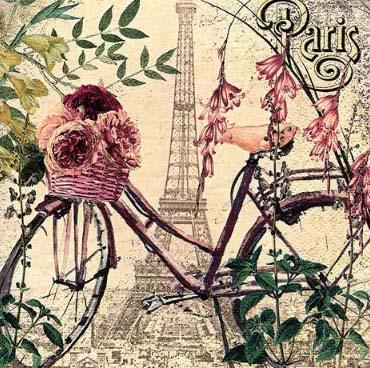 Dekorszalvéta - Vélo à Paris