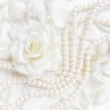 Dekorszalvéta - Petals & Pearls