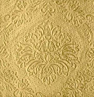 Dekorszalvéta - Luxury Gold