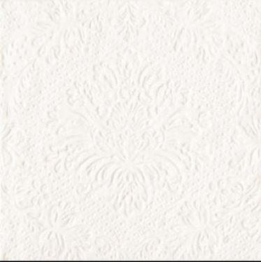 Dekorszalvéta - Luxury Pearlwhite