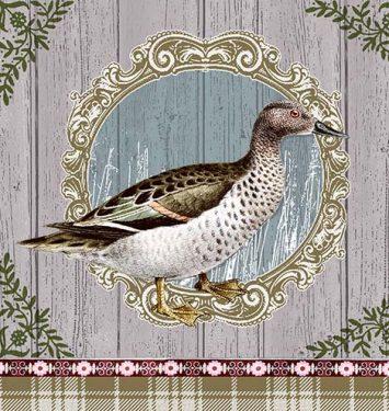 Dekorszalvéta - Duck Portrait