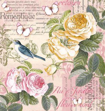 Dekorszalvéta - Romantique