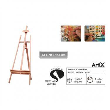 Artix Festőállvány 52x70x147 cm