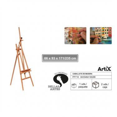 Artix Festőállvány 66x93x171/235 cm