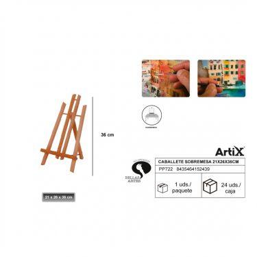 Artix Asztali festőállvány 36 cm