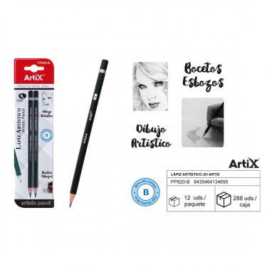 Artix Grafitceruza készlet B 2 db/cs