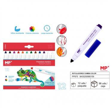 MP Kaméleon színváltós filctoll 12 db/cs
