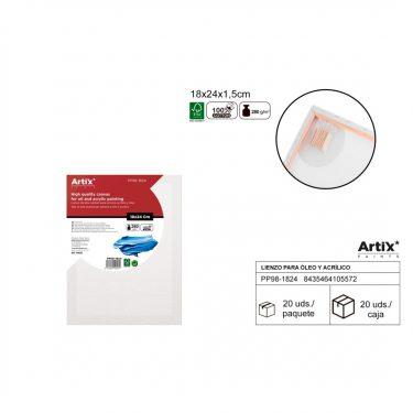 Artix Vászontábla 18x24x1.5 cm