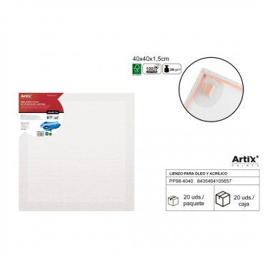 Artix Vászontábla 40x40x1.5 cm