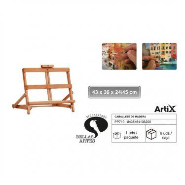 Artix Asztali festőállvány 43x36x24/45 cm