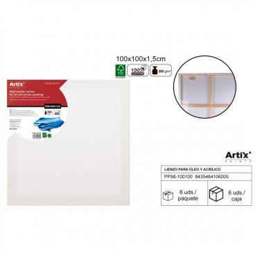 Artix Vászontábla 100x100x1.5 cm