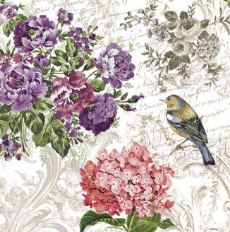 Dekorszalvéta - Charming Garden