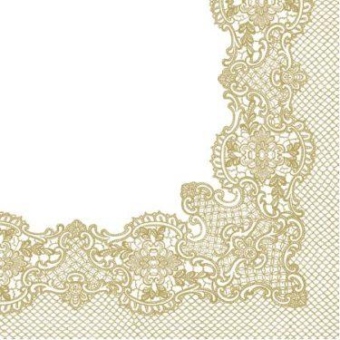 Dekorszalvéta - Royal Lace (gold)