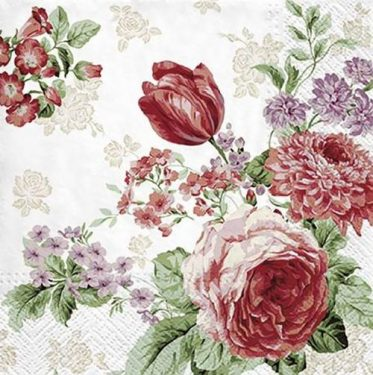 Dekorszalvéta - Mysterious Roses