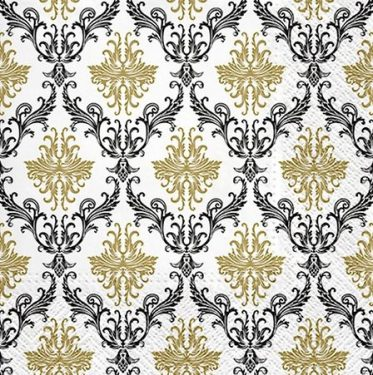 Dekorszalvéta - Royal Ornament Gold