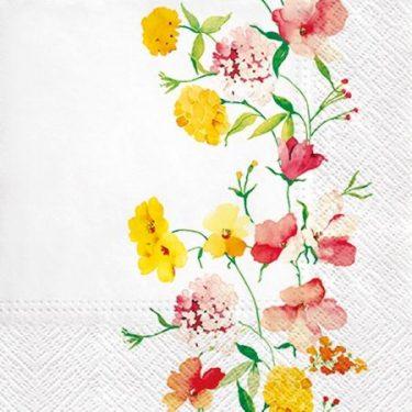 Dekorszalvéta - Delicate Flowers