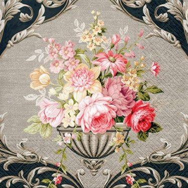Dekorszalvéta - Royal Bouquet